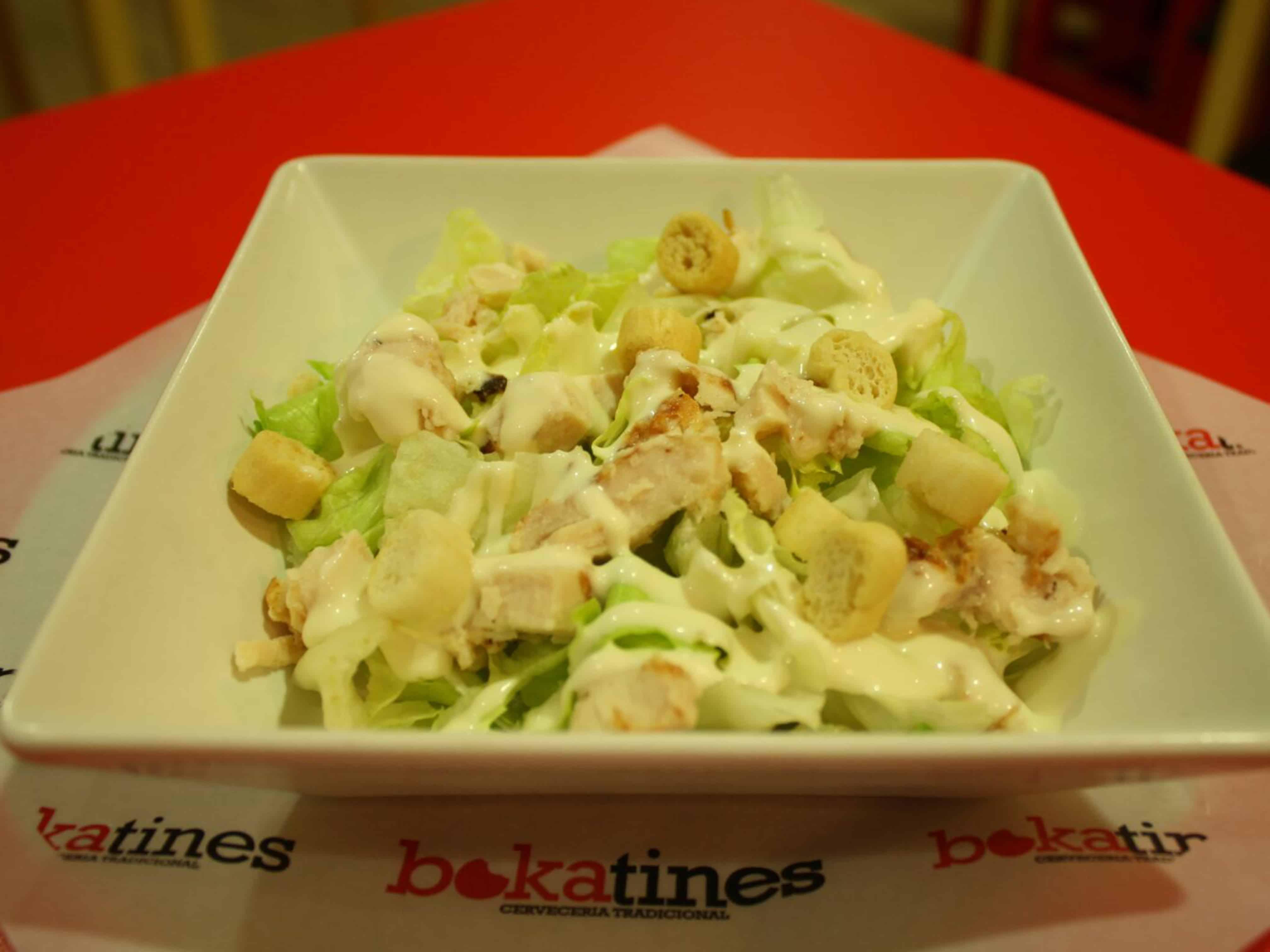 bokatines restaurante ensalada cesar